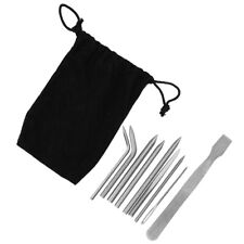 Knitting Needles Needles Set Stainless Steel 9PCS for Knitting Bag Backpack