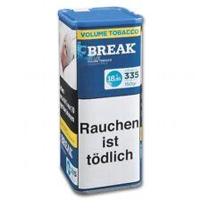 3 x 135g   Break Blau Volumentabak Dose / Break Volume Tobacco