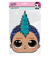 Punk Boi LOL Surprise Single 2D Card party Face Mask - Great party fun
