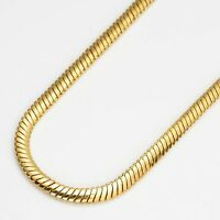 "Fashion Necklace 24k Yellow Gold Filled Link 24"" Chain Jewelry"
