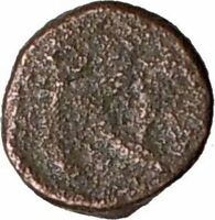 LEO I 457AD Authentic Genuine Ancient Roman Coin w MONOGRAM  i20671