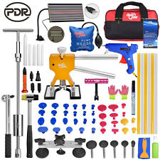 68× Full Set PDR Tools Paintless Hail Repair Removal Dent Puller Lifter Glue Kit