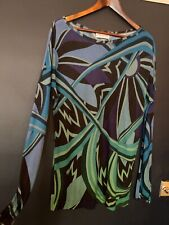 Emilio Pucci top batwing UK 12 loose fit