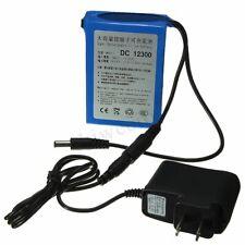 DC-12300 12V 3000mAh Super Rechargeable Protable Li-ion Battery w/ Plug new