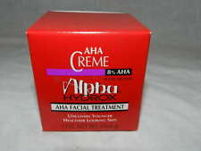 Alpha Hydrox AHA Creme 8% Anti-Wrinkle Exfoliant 2 Oz Facial Treatment Free S&H