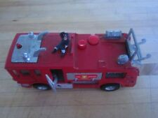 Vintage collectible fire truck,toy metal DINKY TOYS  merryweather marquis fire t