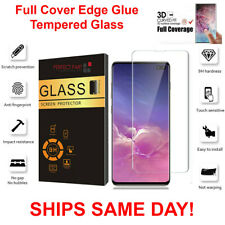 For Samsung Galaxy S10e S10 PLUS Full Cover 3D Tempered Glass Screen Protector