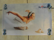 NEW MARIA MARTINA GIUFFRIDA DANCE POINTE POSTER BALLET SO DANCA WHITE TUTU
