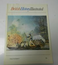 1975 BRITISH HISTORY ILLUSTRATED v.1 #4 Captain Cook's Second Voyage TITANIC VG