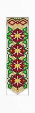 Christmas Poinsettia Bell Pull Beaded Banner Pattern
