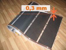 AKTION! Elektrische Fussboden Heizung, Infrarot Heizfolie - 25cm x 50cm, 27,5W