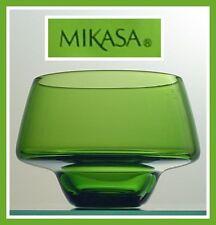 EMERALD GREEN Votive Tea Light Candleholder MIKASA NEW!