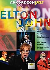 Akkordeon Noten : ELTON JOHN (Akkordeon pur) mittelschwer - schwer
