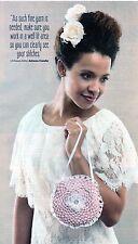 ~ Crochet Pattern For Beautiful Circular Lace Bag ~