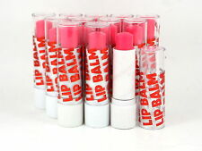 48x Cherry Pink Lip Balm Wholesale Job Lot Cosmetic Party Bag Items Clearance 50