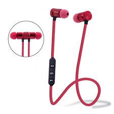 Bluetooth 4.1 Wireless Universal Stereo Sport Earphone Earbuds Headset Headphone