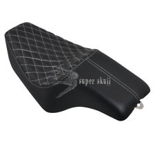 New Diamond Stitched Driver Passenger Seats For Harley Sportster 883