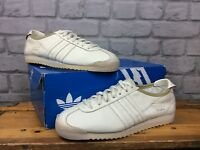 ADIDAS MENS UK 6 EU 39 1/3 ITALIA CREAM LEATHER TRAINERS 2008 RARE