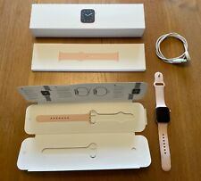 Apple Watch Series 5 40mm Gold-Tone Aluminium Case with Pink Sand Sport Band