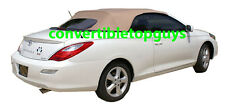TOYOTA SOLARA CONVERTIBLE TOP DO-IT-YOURSELF PKG: 04-09 TOP+DEFROSTER WINDOW