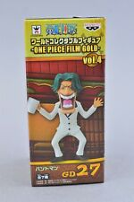Banpresto One Piece World Collectible WCF Film Gold Bandsman GD27 Authentic