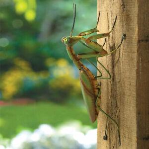 Large Lifelike Praying Mantis Indoor/Outdoor Metal Garden Sculpture