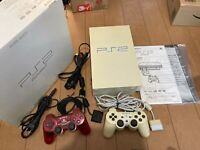 Sony PlayStation 2 Console SCPH-50000PW Perl White Color with BOX and Manual