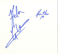 Helen Glover & Heather Stanning - British Olympic 'Gold' Rowers In Person Card.