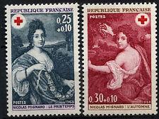 France 1968 SG#1812-3 Red Cross Fund MNH Set #D43348