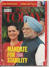 INDIA TODAY-may 25,2009-ELECTIONS 2009-MANDATE FOR STABILITY.