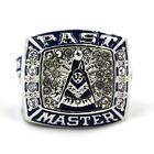 MASONIC MASON PAST MASTER BLUE LODGE RING SIZE 7 8 9 10 11 12 13 14 15