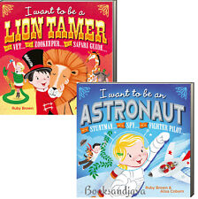 I Want To Be A Lion Tamer, I Want To Be An Astronaut (bb) 2bks NEW