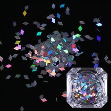 BORN PRETTY Holographic Nail Glitter Sequins Rhombus Nail Art Flakes Paillettes