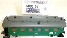 CSD Personenwagen 3 Klasse Traglastenabteil 506301 Fleischmann 5063 01 NEU LB3 µ