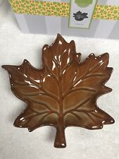 Scentsy Maple Leaf Warmer Brand New in Box