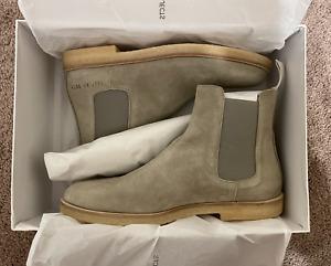 Common Projects 1897470573 Men's Tan suede Chelsea Boots Sz EUR-41 UK-7.0 US-8.0
