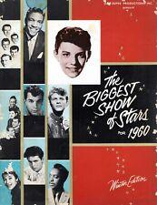 Biggest Show Of Stars 1960 Program Book-Isley Bros-Cliff Richards-Avalon-Rydell