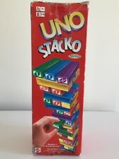 Uno Stacko Stacking Jenga Game by Mattel - 100% Complete