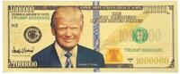 2020 TRUMP: 45th GOLD PRESIDENTIAL MILLION 👍 .9999 GOLD FOIL Note 🤴
