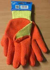 OX LATEX GRIP GLOVES * Various Sizes *