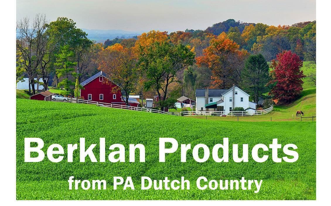 Berklan Products: Vintage and New