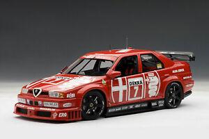 AUTOART 89304 ALFA ROMEO 155 V6 Ti DTM HOCKENHEIM WINNER 1993 NANNINI 1:18 ,OVP
