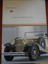 Maybach Zeppelin DS8 brochure c2005