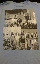 Mens Small City Art Shirt