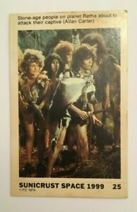 SPACE 1999  - SUNICRUST Card #25 Gerry Anderson RARE IN UK Made in Australia