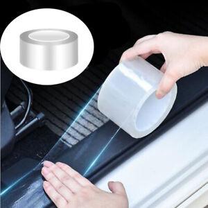 Protector Sill Scuff Cover Car Door Plate Sticker Anti Scratch Bumper Strip 3M