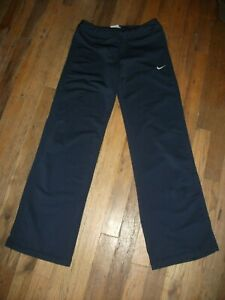 Nike Athletic Pants in Navy w/ Orange Accent -Girl's Size L (14/16)