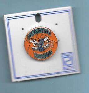 1992 Charlotte Hornets Peter David Pin