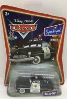 Disney Pixar Cars Movie Sheriff ORIGINAL Desert Scene Series 1 Die Cast 2005