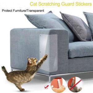 2Pcs Transparent Soft Anti-scrapes Cat Sofa Protector Furniture Protective P.QA